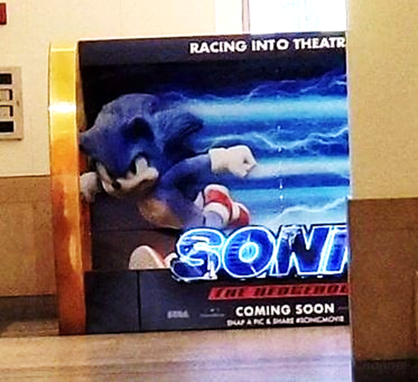 Rumoured peak at Sonic redesign seems to satisfy movies fans