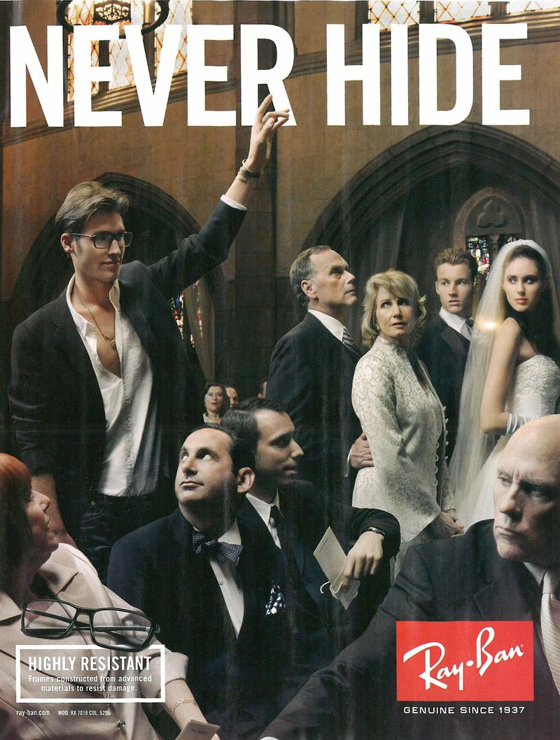 Why Ray-Ban's 'NEVER HIDE' Campaign Was Culturally Important