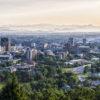 The skyline of downtown Asheville, North Carolina