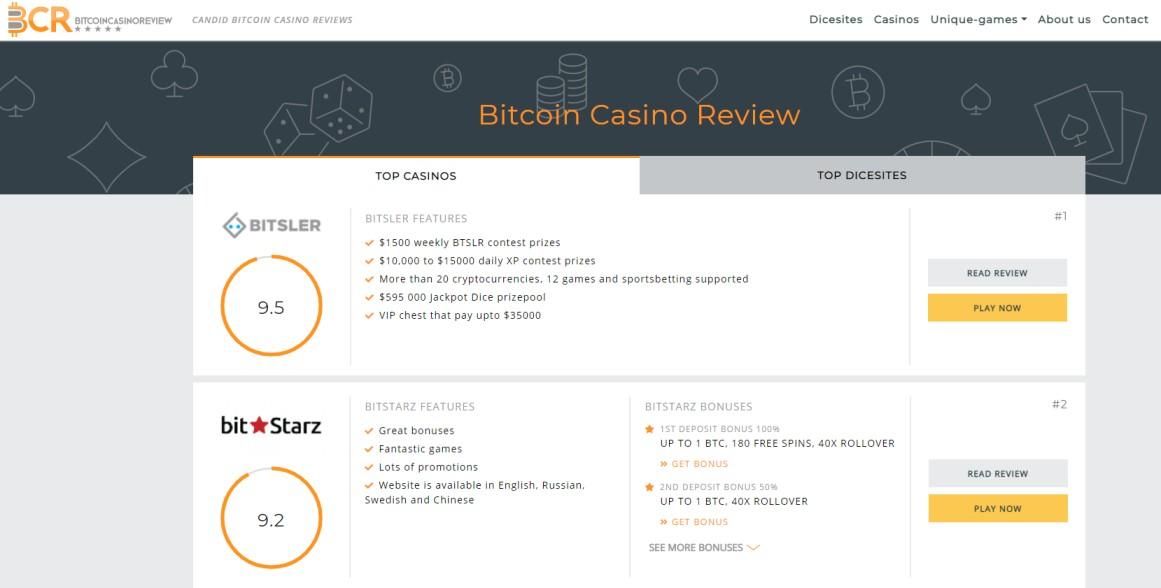 Bitcoin Casino - Online Casino