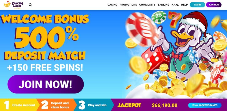 DuckyLuck Casino - Online Casino