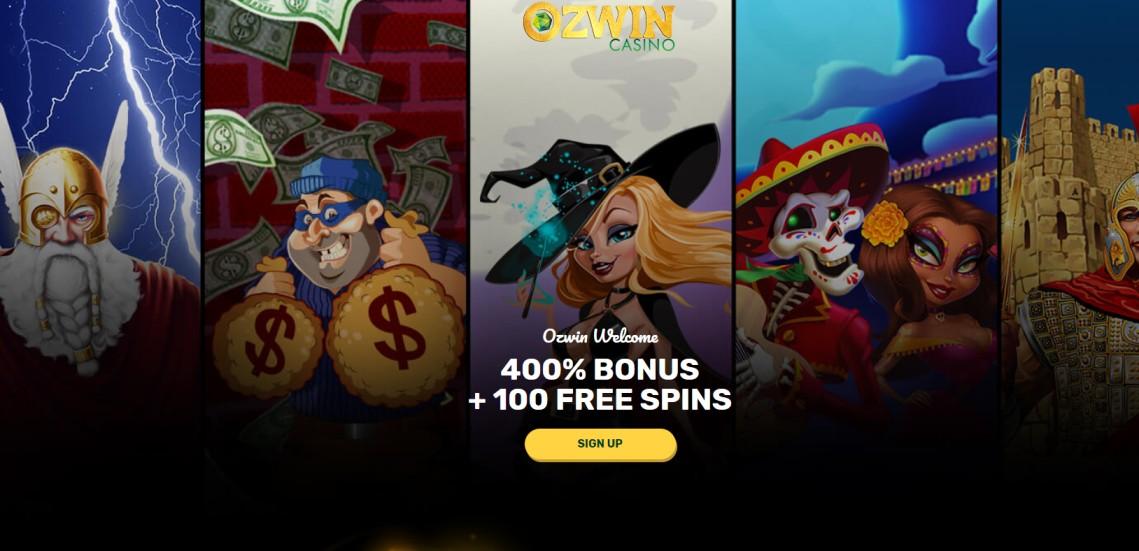 Ozwin - Online Casino