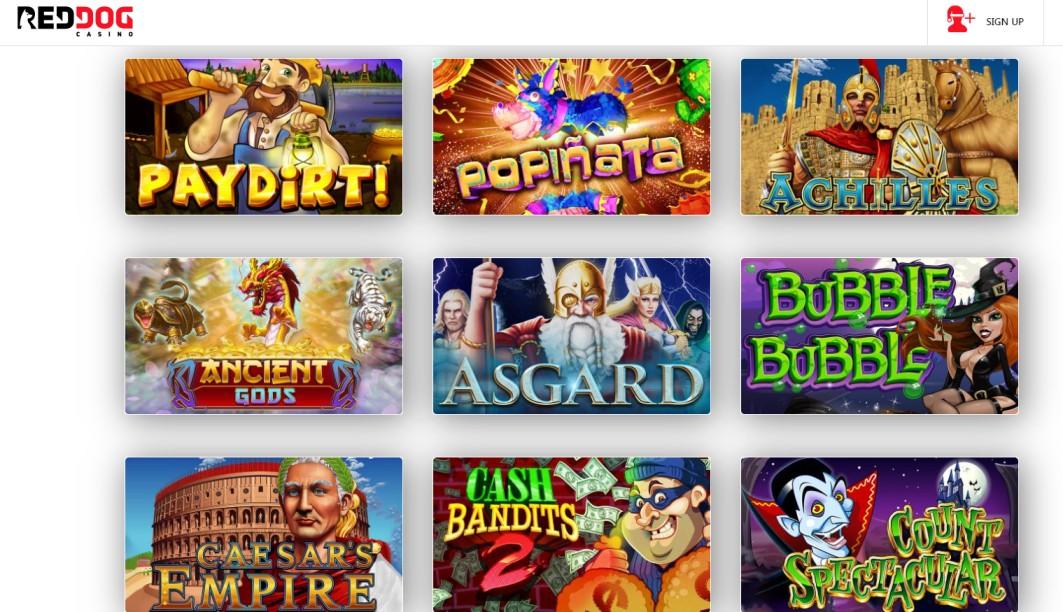 Red Dog Casino - Online Casino
