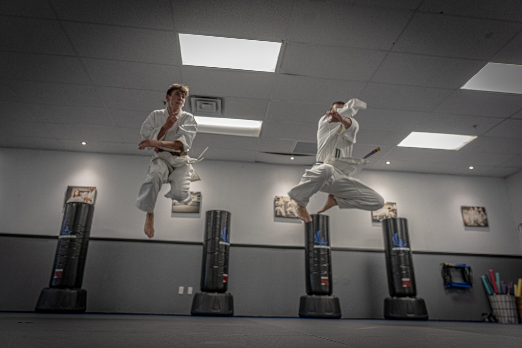 Lorenzo Sandoval and His School Ageless Karate