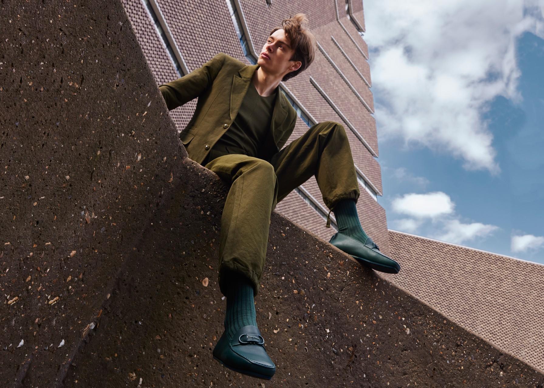 Danish model Mathias le Fèvre