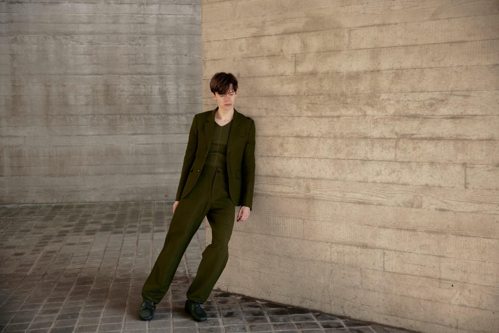 Mathias le Fèvre is a danish model