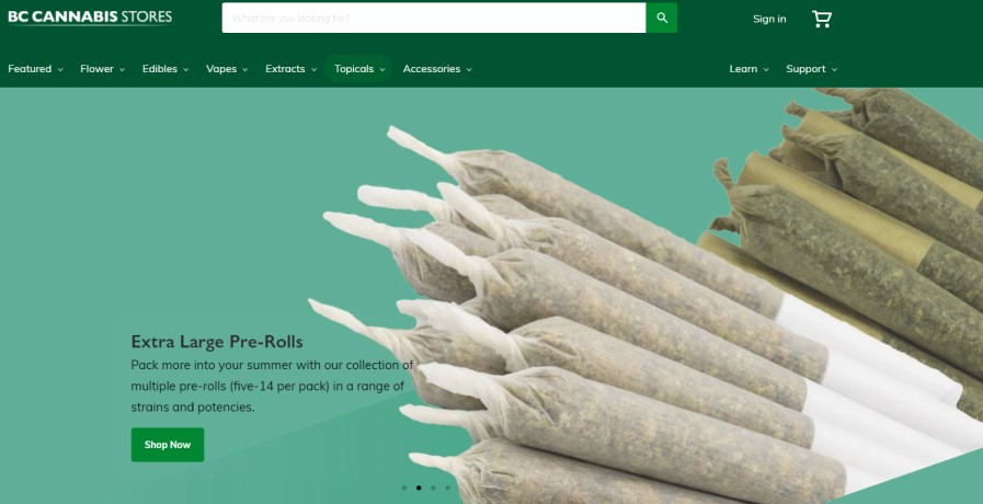 Weed Stores in Canada